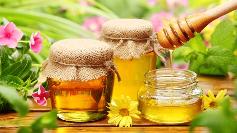 High quality honey for export
